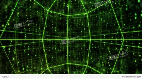 Cyber Background Cyber Image Background Stock Footage 8931825