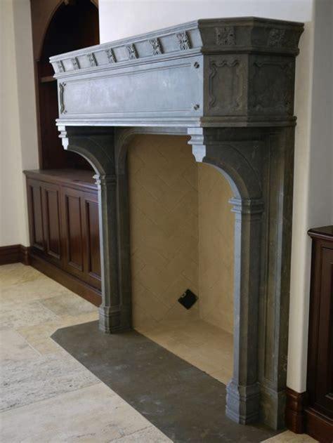 english gothic stone fireplace mantels bt
