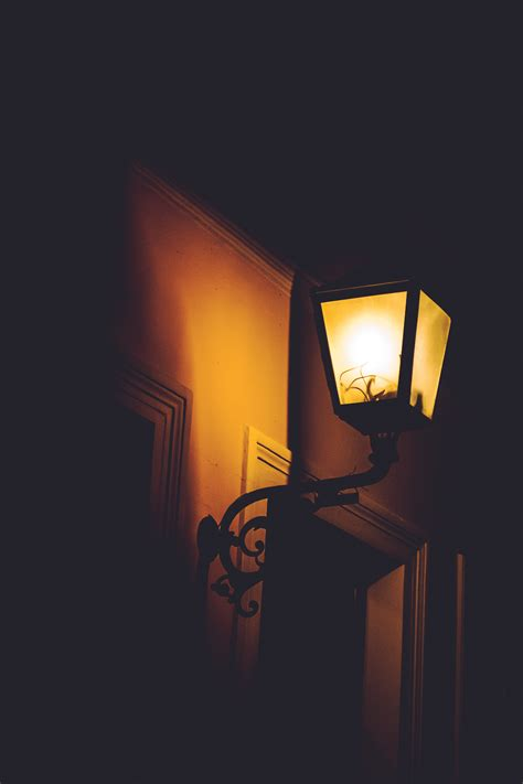 images street night shadow flame darkness lamp