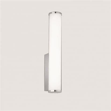 franklite lighting bathroom vertical led opal wall light in chrome finish wb062 lighting from