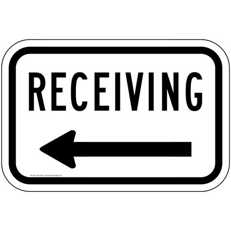 how to format a business letter receiving left arrow sign pke 22430 directional 22430