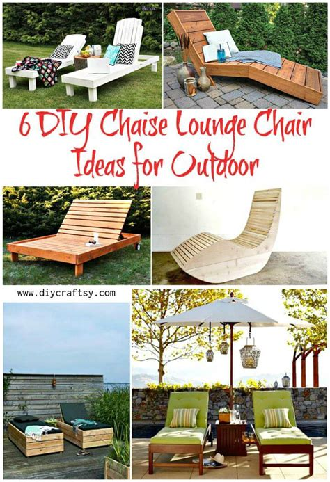 6 Diy Chaise Lounge Chair Ideas For Outdoor  Diy & Crafts