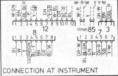 740 gle 1986 instrument cluster connectors volvo volvo enthusiasts