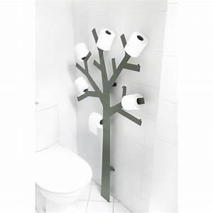 Porte Papier Toilette Design : deco wc design arbre papier toilette par presse citron ~ Dailycaller-alerts.com Idées de Décoration