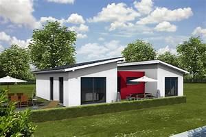 Fertighaus Schlüsselfertig Inkl Bodenplatte : bungalow pultdach iqhausbau ~ Lizthompson.info Haus und Dekorationen