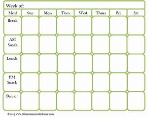 Weekly Healthy Meal Planners Free Meal Planning Template This Cooks Dinner