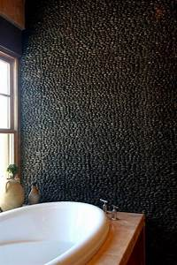 le carrelage galet pratique revetement pour la salle de bain With faillance pour salle de bain
