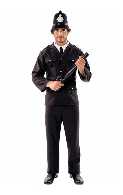 Policeman Fancy Costumes Police Costume Transparent Joke
