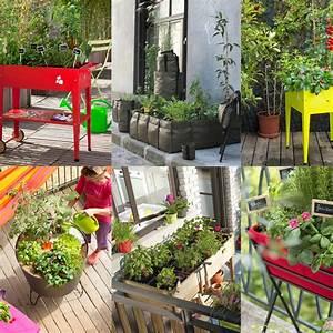 comment realiser un petit potager elle decoration With amenagement petit jardin exterieur 13 cuisines jardin ete maison amp travaux