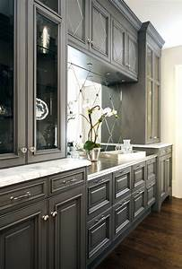 Charcoal gray kitchen cabinets design ideas for Kitchen colors with white cabinets with charcoal wall art