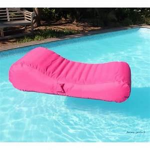 Canapé Jardin Pas Cher : matelas de piscine flottant wave gonflable canap pouf ~ Premium-room.com Idées de Décoration