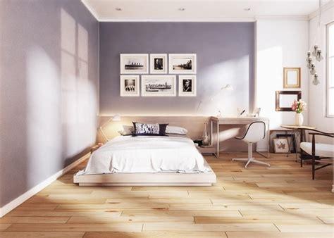 chambre mur gris chambre à coucher contemporaine par le studio de design koj