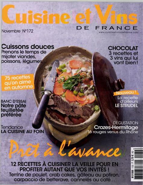 cuisine et vins de cuisine et vins de n 172 abonnement cuisine et