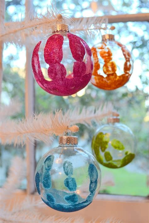 20 awesome handprint christmas ornaments ideas magment