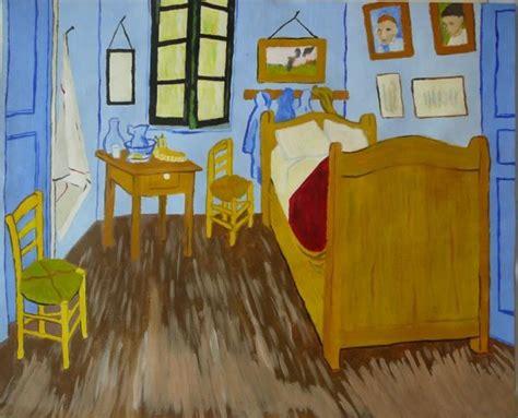 tableau de gogh la chambre reproduction de la chambre à coucher de gogh