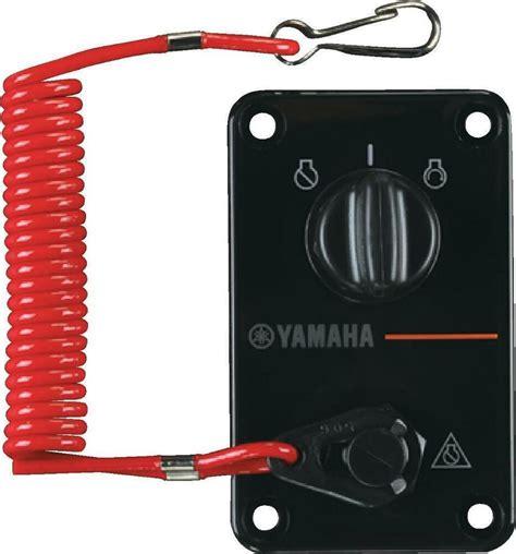 yamaha outboard single key switch panel