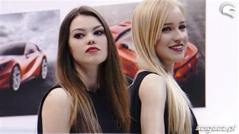 Hostessy Ferrari Poznan Motor Show 2018