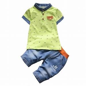 Baby Boys Fashion Style Summer Clothing Sets 2pcs