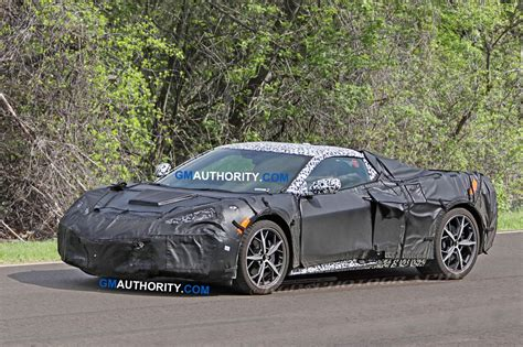 Mid-engine Corvette Track Acceleration Testing