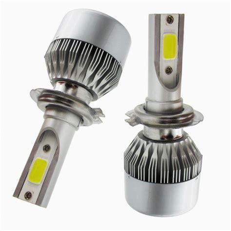 H7 Led Len H7 6000k Cob Led Car Auto Headlight Kit 110w 2x4600lm Cree