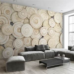 large custom mural wallpaper modern design 3d wood texture With what kind of paint to use on kitchen cabinets for extra large metal tree wall art