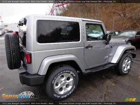 jeep sahara silver 2013 jeep wrangler sahara 4x4 billet silver metallic