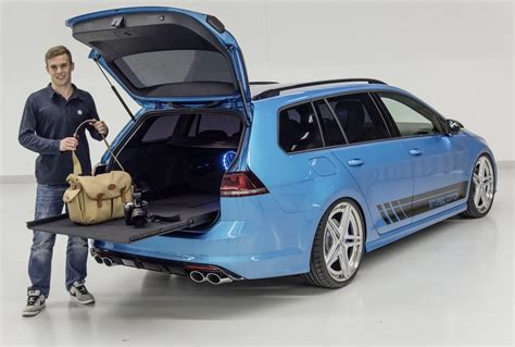 vw golf variant jahreswagen vw golf variant biturbo edition features a 240ps tdi engine from the passat carscoops