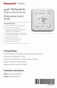 33-00153-07 - Lyric T6 Pro Wi-fi Thermostat