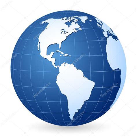 foto de Globe terrestre bleu 2 Image vectorielle julydfg © #3950343