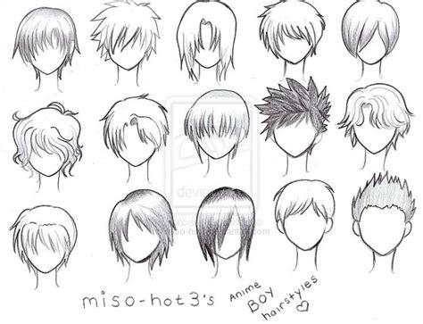 reference  drawing short hair art methods