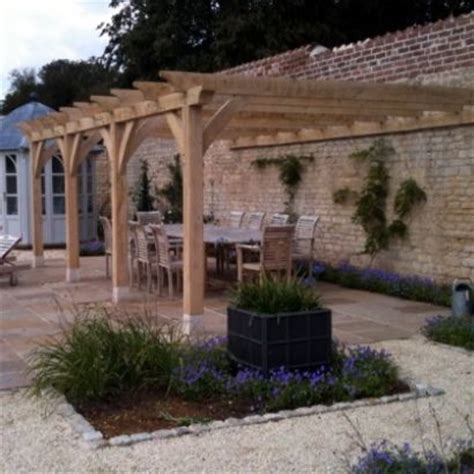 covered pagoda bespoke oak garden buildings structures and rustic furniture english oak designs