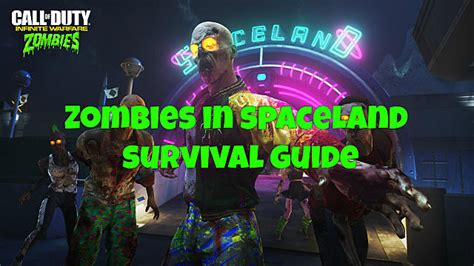 infinite warfare zombies  spaceland survival guide