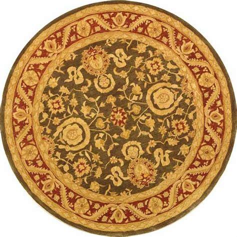 8 foot area rugs safavieh anatolia charcoal 8 ft x 8 ft area