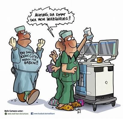 Herzchirurg Lustig Krankenschwester Humor Witze Cartoon Arbeit