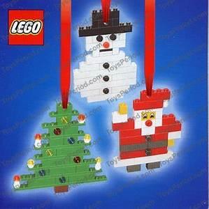 LEGO 4759 Three Christmas Decorations Santa Tree and
