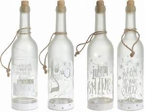 Flasche Mit Lichterkette : led dekoflasche 10 led 4er set flaschenlicht beleuchtete wein flasche deko ebay ~ Frokenaadalensverden.com Haus und Dekorationen