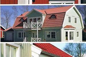 Schwedenhaus Fertighaus Preise : schwedenhaus svalan mit runderker und balkon ~ Markanthonyermac.com Haus und Dekorationen