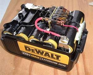 Syonyk U0026 39 S Project Blog  Dewalt 20v Max 3 0ah Battery Pack