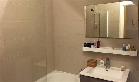 salle de bain avant apres r 233 novation salle de bains repeindre le carrelage plut 244 t que de le casser