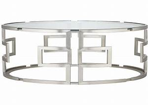 Coffee tables ideas set antique silver glass coffee table for Round glass silver coffee table