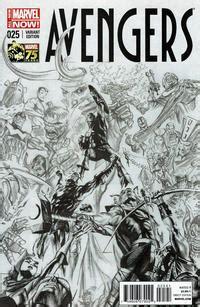 gcd issue avengers  marvels  anniversary