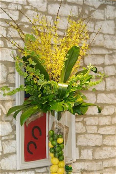 forsythia flower arrangements bouquets of austin yellow and green