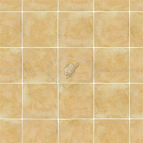 light yellow terracotta tile texture seamless