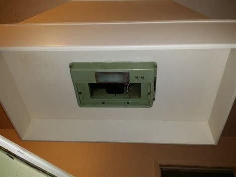 exhaust fan with light for kitchen kitchen island vent from the 80 s 9658