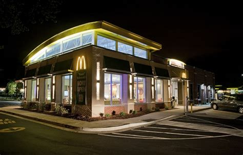 lighting stores cary nc leed certified led lighting case study mcdonald 39 s cree