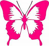 Pink Butterfly Clip Ar...