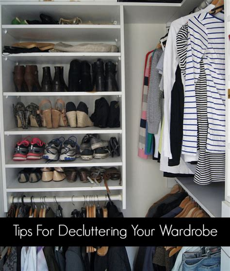 Tips For Decluttering Your Wardrobe  Planning With Kids
