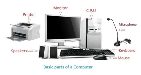 Computer Parts Rozier Tech Page