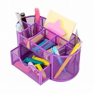 Pro, Space, Desktop, Organizer, Mesh, Office, Pencil, Holder, Desk, Accessories, Organizer, 9, Compartments