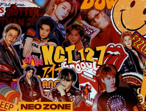 nct 127 aesthetic computer wallpaper 90 s vintage